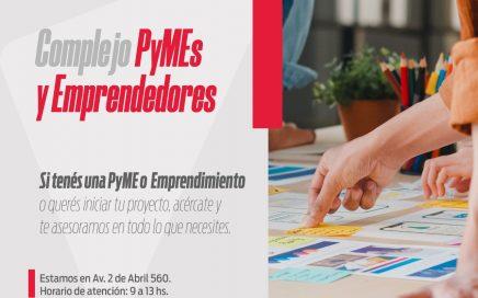 """Brindan atención al público en el  """"Complejo PyMEs y Emprendedores"""""""