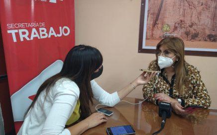 La Secretaria de Trabajo Myriam Espinosa destacó el aumento en el Programa REPRO II