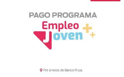 PAGO DEL PROGRAMA EMPLEO JOVEN
